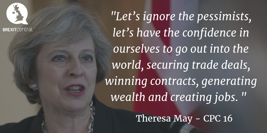 Theresa May's Brexit Speech at Conservative Party Conference