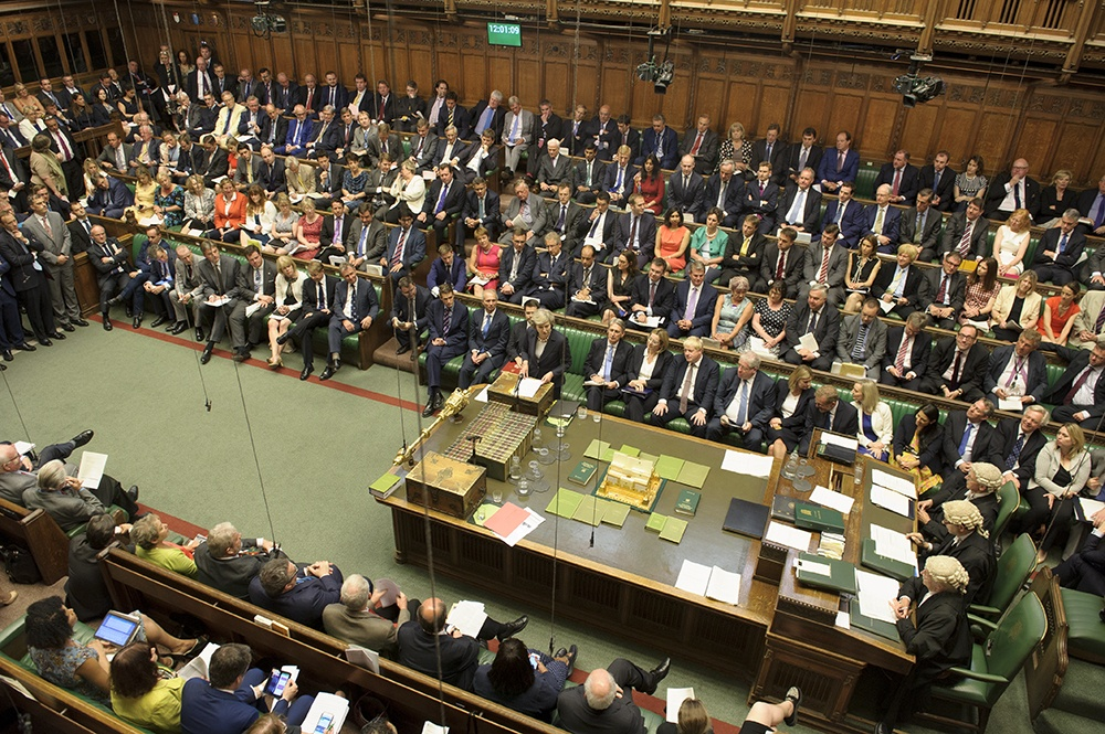 Government defeated by a majority of 41 in the Commons on move to prevent prorogation