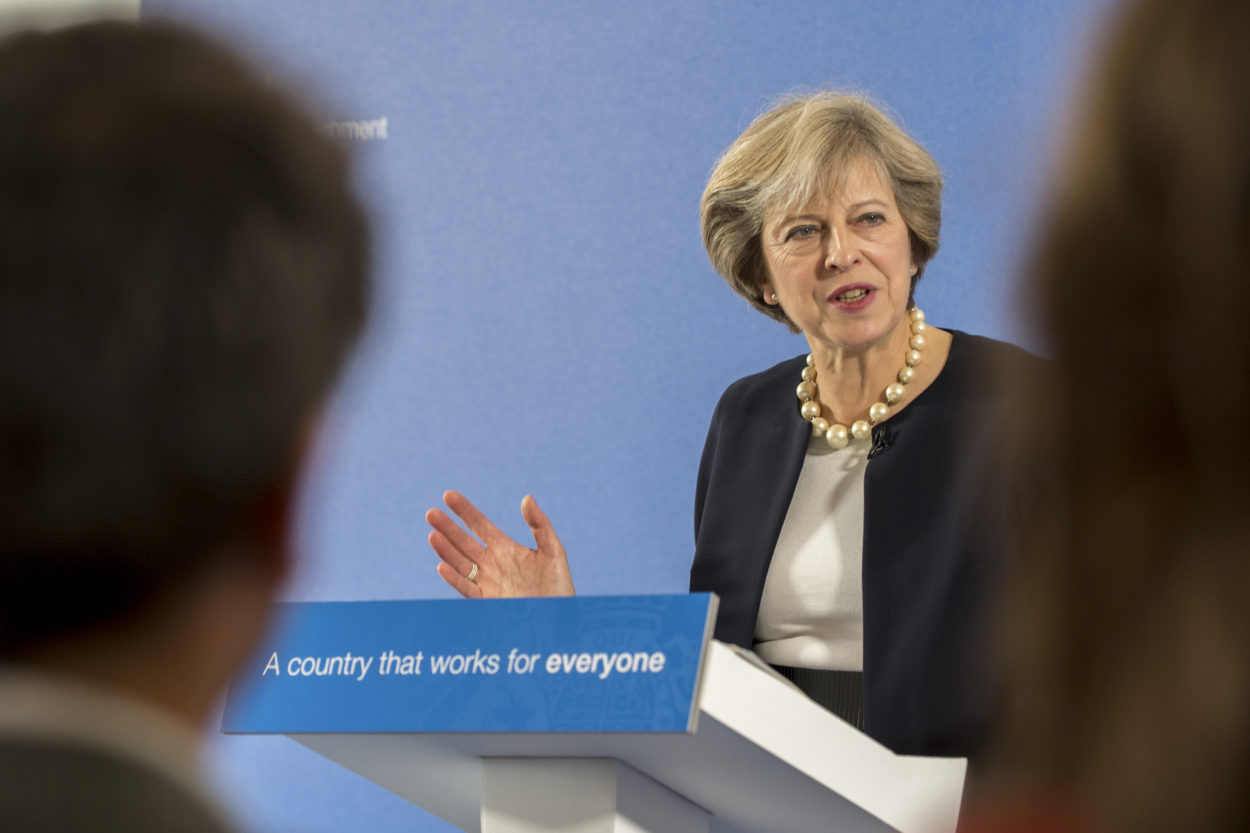 Theresa May has finally given us an achievable and realistic vision of post-Brexit Britain