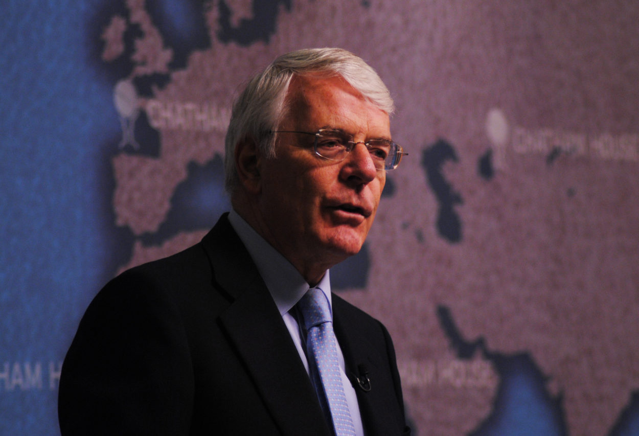 Sir John Major's negative and defeatist Brexit speech re-opened wounds he claimed he wanted to be healed