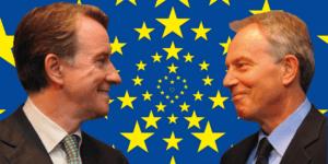 Love EU: Mandelson and Blair