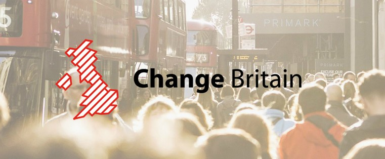 What Change Britain has achieved in its first six months