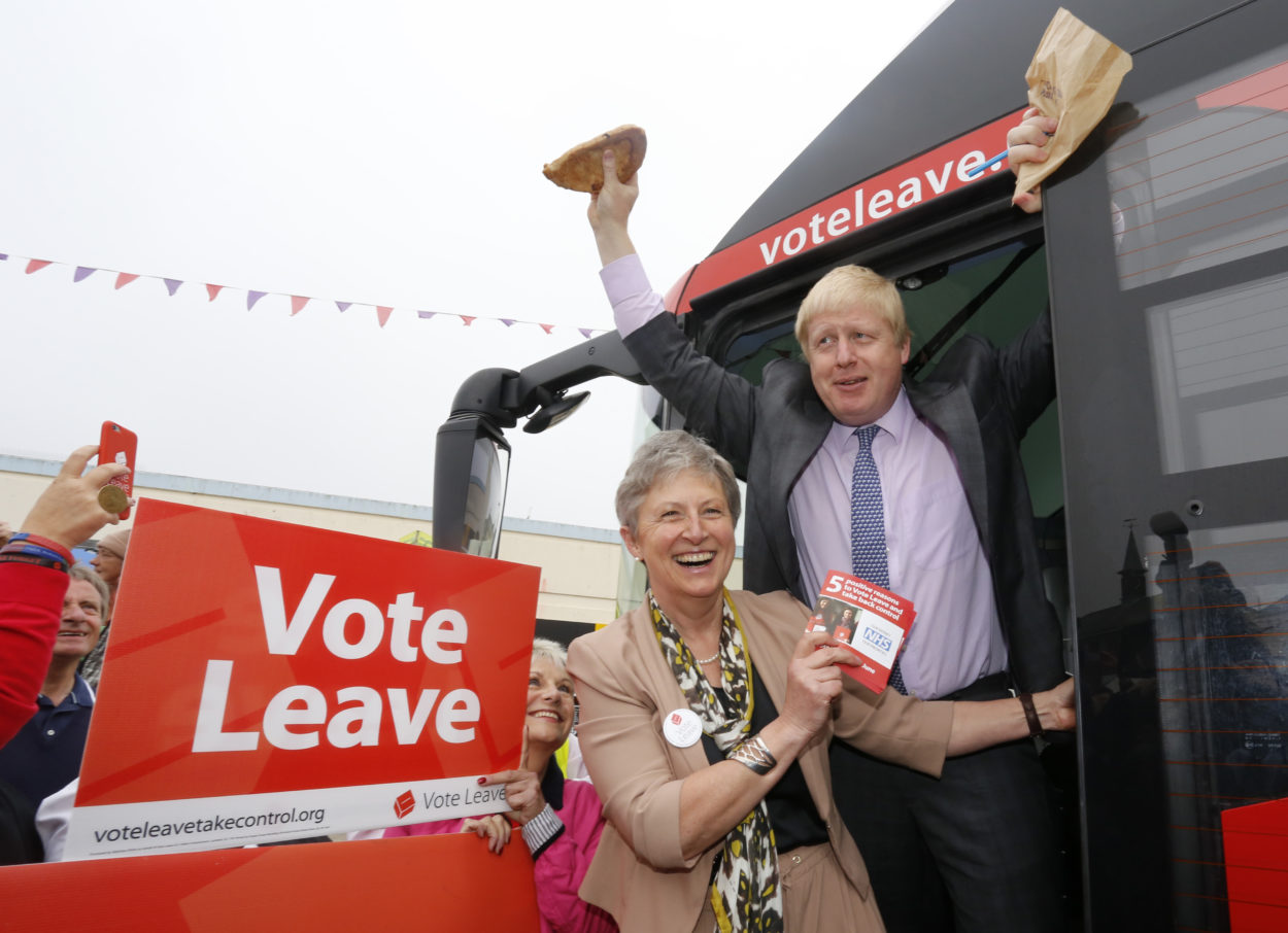 Ex-Labour minister and Vote Leave Chair Gisela Stuart urges nation to vote Tory as she joins Boris Johnson for major Brexit speech: Brexit News for Friday 29 November