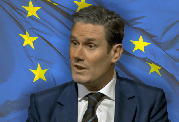 Sir Keir Starmer says a cross-party Brexit deal is unlikely to pass without a guarantee to put it to another referendum: Brexit News for Monday 13 May