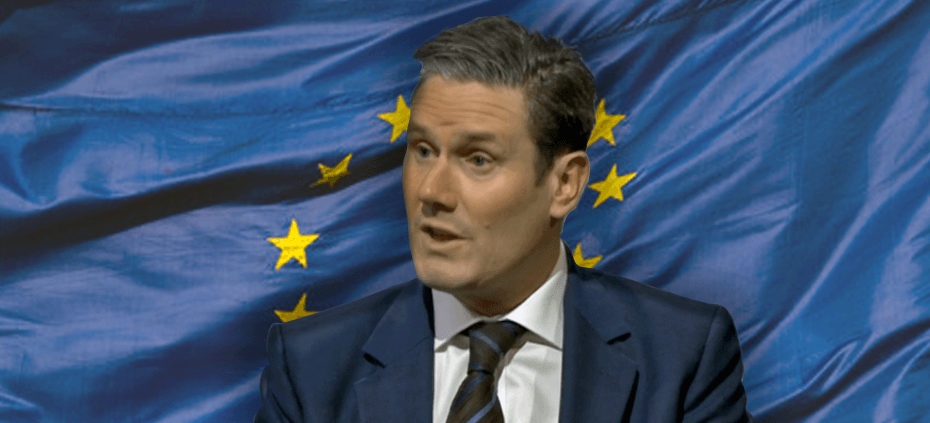 Labour needs to dump Keir Starmer's negotiating strategy advocating surrender to the EU