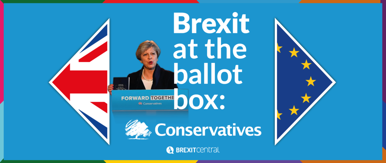 What the Conservative manifesto says about Brexit