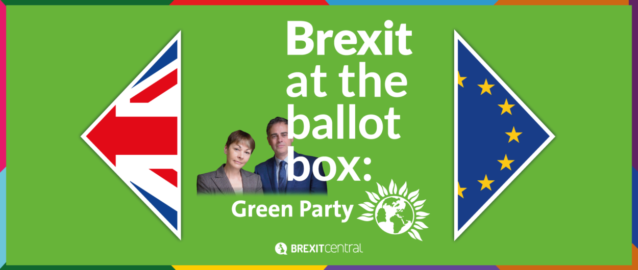 What the Green Party manifesto says about Brexit