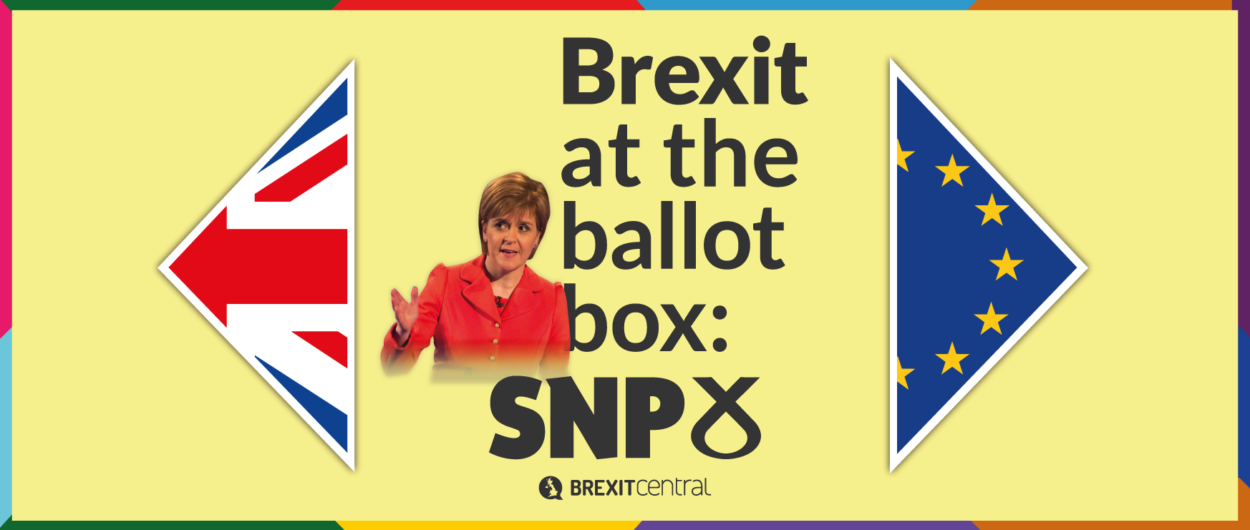What the SNP manifesto says about Brexit