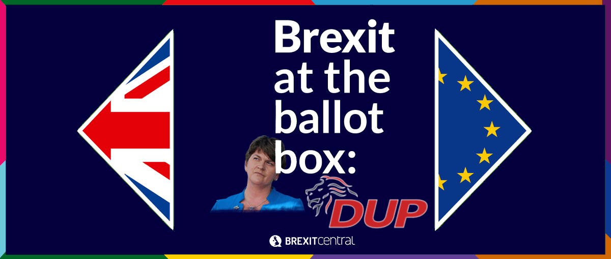What the DUP manifesto said about Brexit