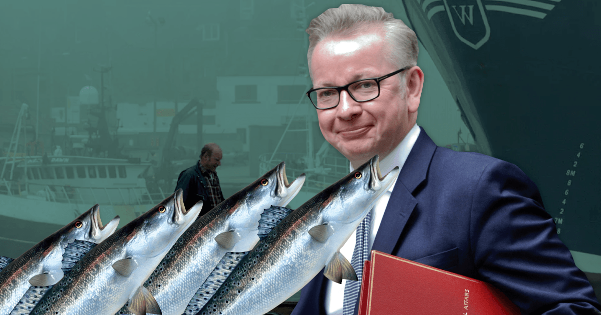 Gove's plan to take back control of fishing