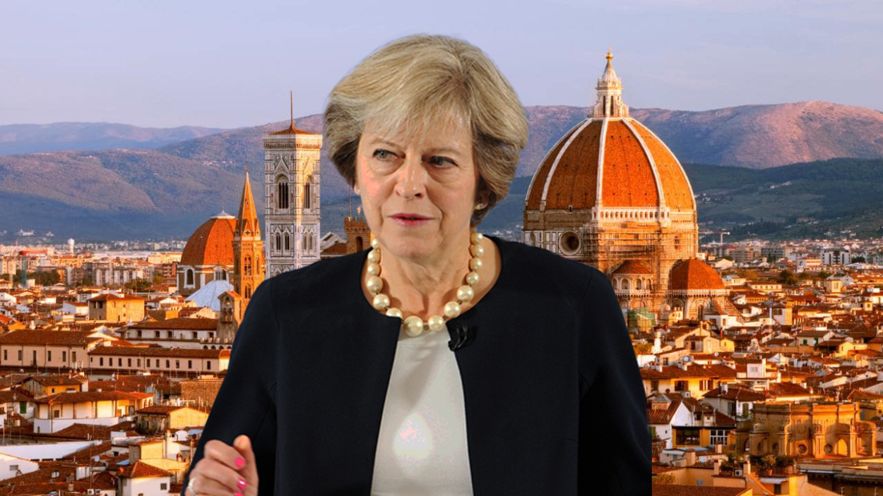 Theresa May's Florence speech must paint a positive vision for the UK's post-Brexit future