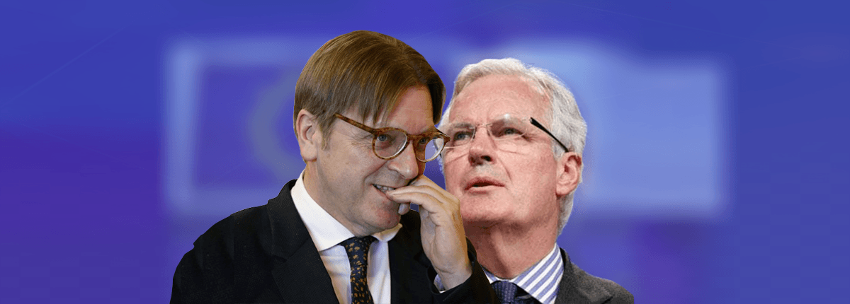 After meeting Michel Barnier and Guy Verhofstadt, I've concluded that 'no deal' will be better than their deal
