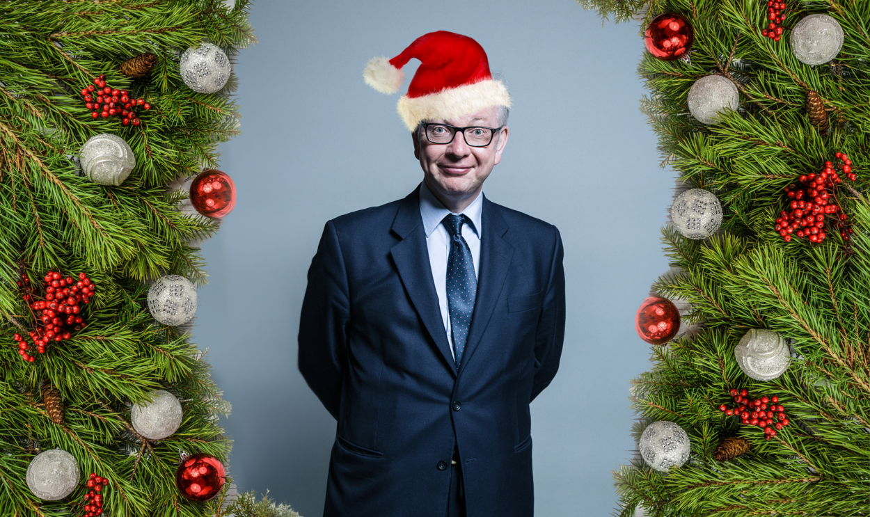 Happy New Year Michael Gove