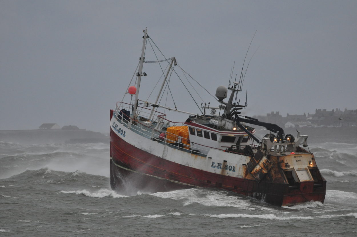 It looks like we're seeing another betrayal of the British fishing industry