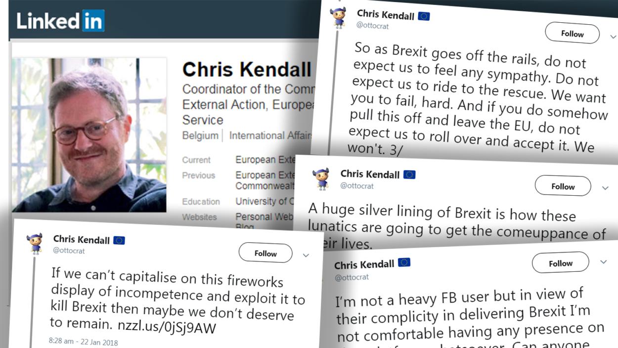 Senior EU diplomat exposed as Remainer Twitter troll