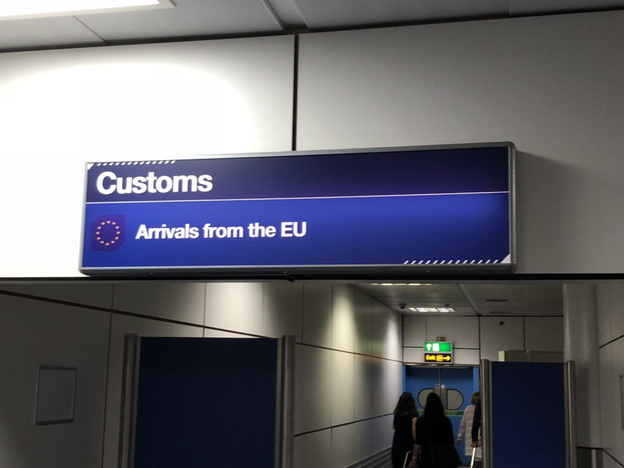 The sooner we are out of the Customs Union, the sooner we won't have to impose its costly tariffs