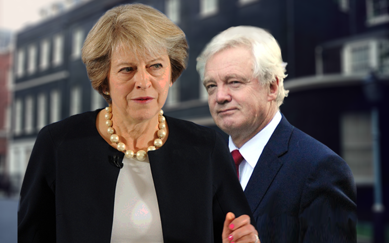 Theresa May should keep David Davis's draft of the White Paper in her back pocket