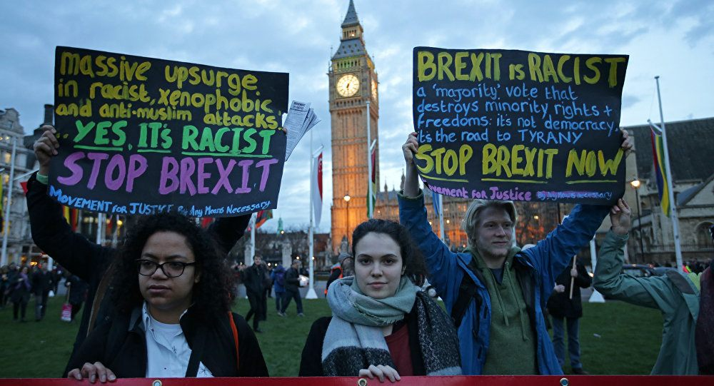 How Remainers are using identity politics to demonise Brexiteers