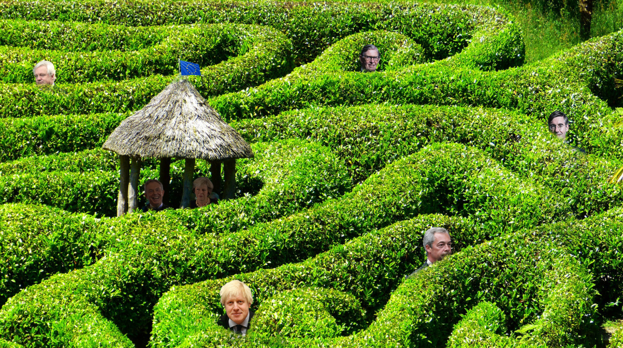 Does the Euro Maze have an exit?