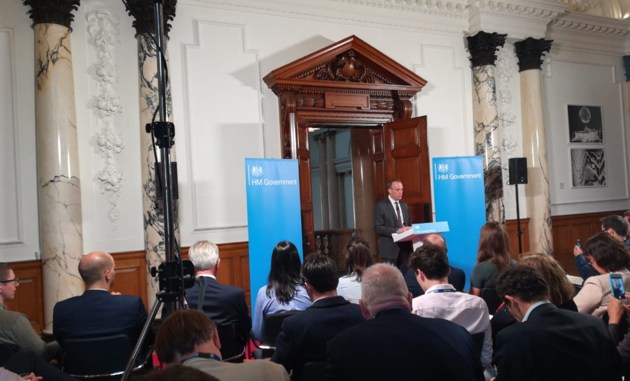 Full text of Dominic Raab's speech on no-deal planning