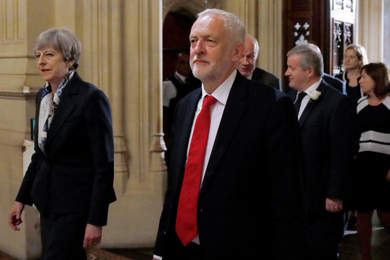 Jeremy Corbyn says Brexit talks with Theresa May are on the brink of collapse as the PM still wants to do a trade deal with Donald Trump: Brexit News for Thursday 18 April