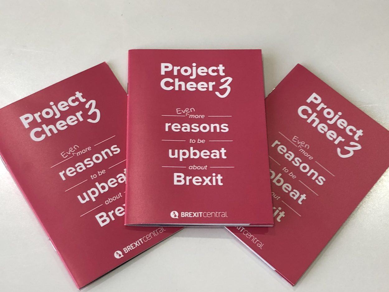 <i>Project Cheer 3: Even more reasons to be upbeat about Brexit</i>