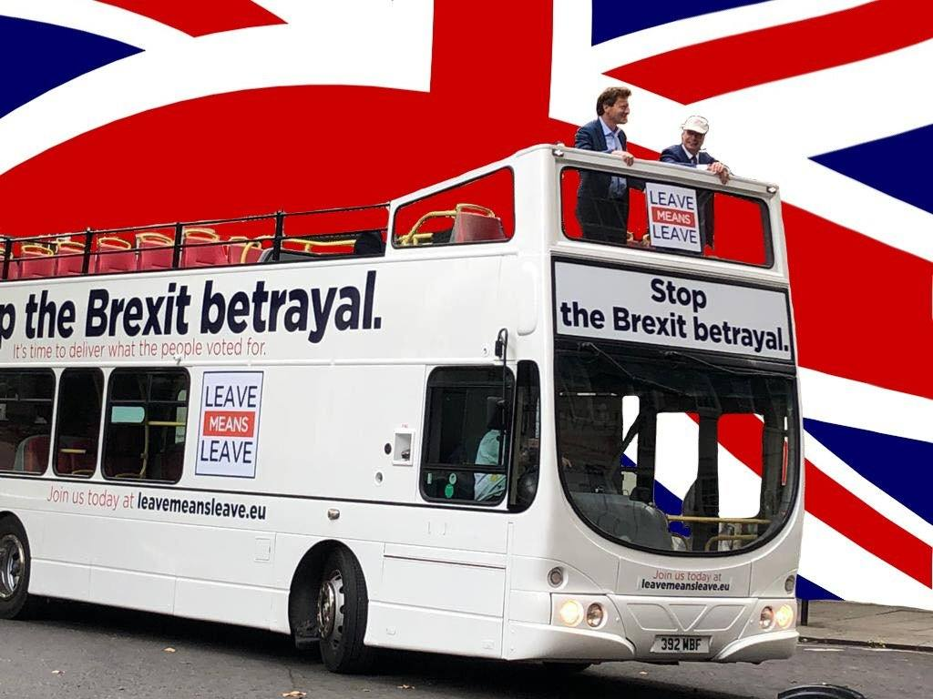 Leave Means Leave's 'Save Brexit' tour begins today