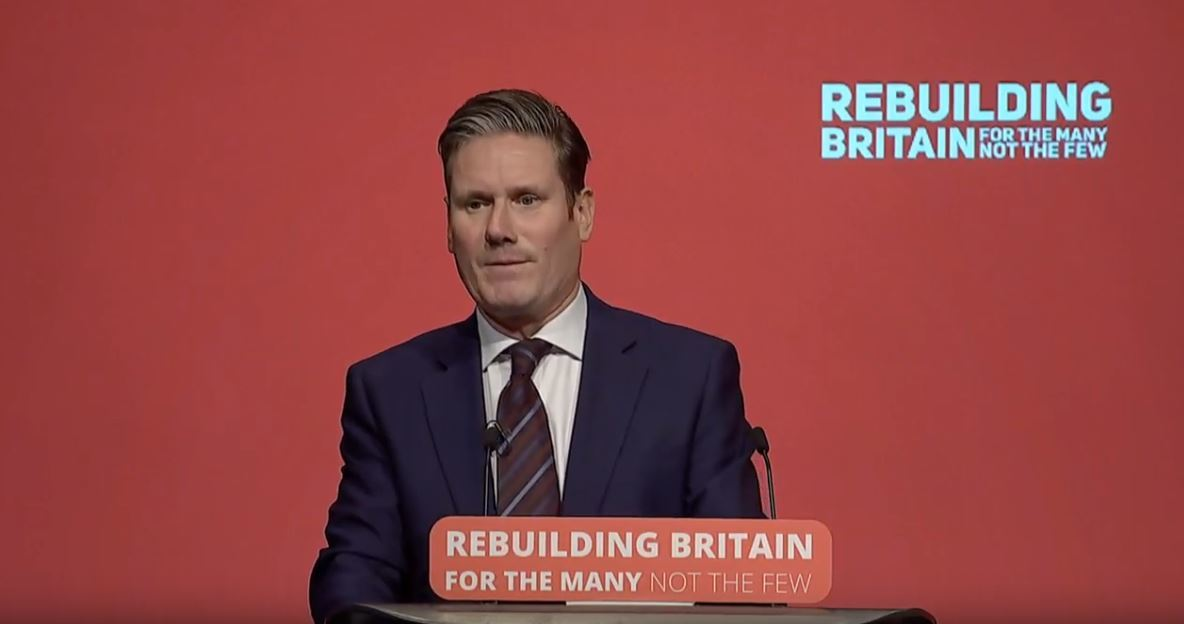 Text of Sir Keir Starmer's speech to Labour Conference