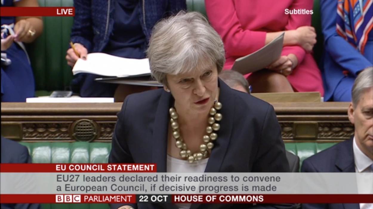 Full text of Theresa May's update to MPs on last week's European Council