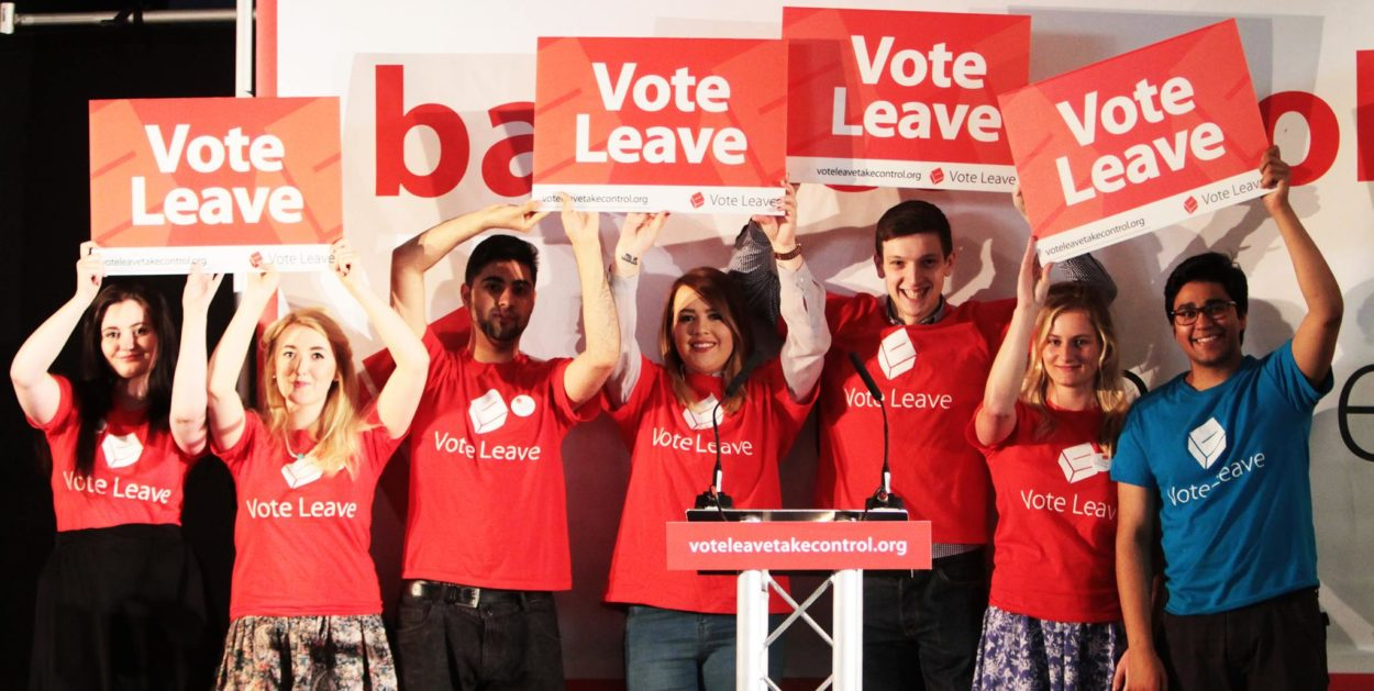 "We already had a ""People's Vote"" and the people voted to Leave the EU"