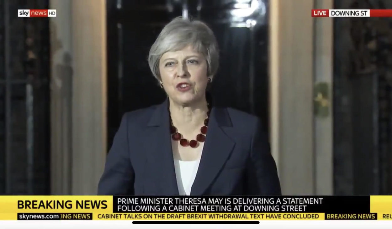 Theresa May papers over the cracks as Cabinet backs her Brexit deal: Brexit News for Thursday 15th November