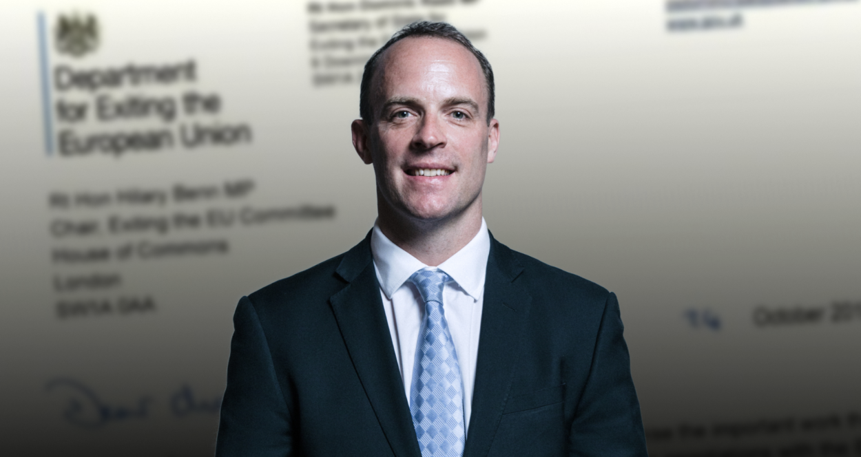 Dominic Raab appears to confirm he expects a Brexit deal to be done by mid-November: Brexit News for Thursday 1st November