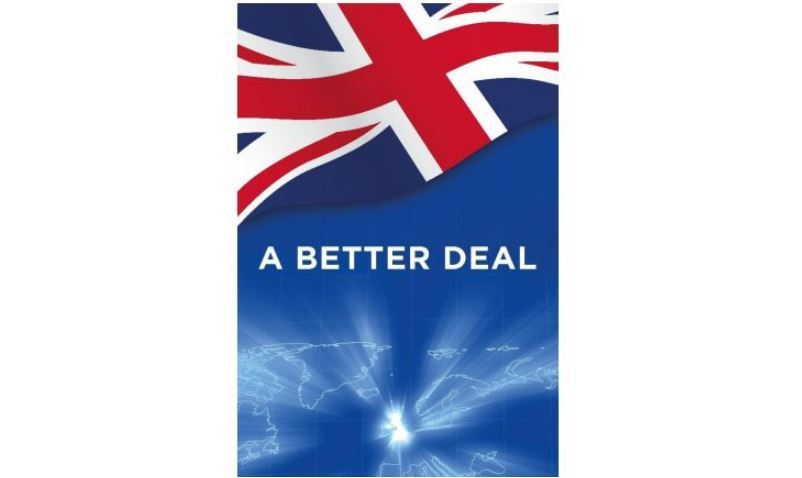 MPs should vote down Theresa May's Withdrawal Agreement and seize the opportunities of <i>A Better Deal</i>