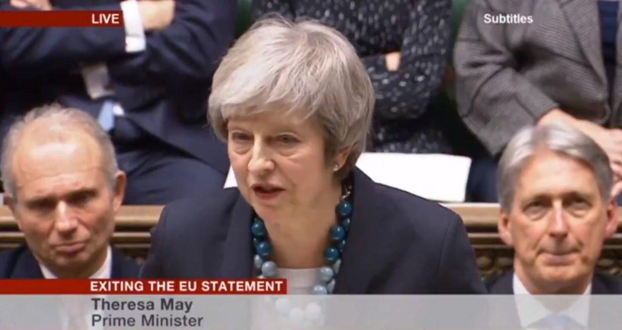 Theresa May's explanation of why she is postponing the vote on her Brexit deal