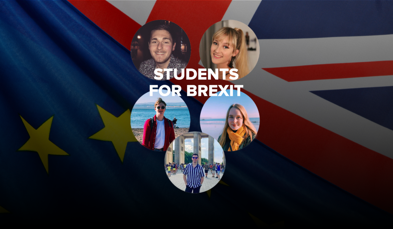 Thousands have been signing up to Students For Brexit in the weeks since its launch