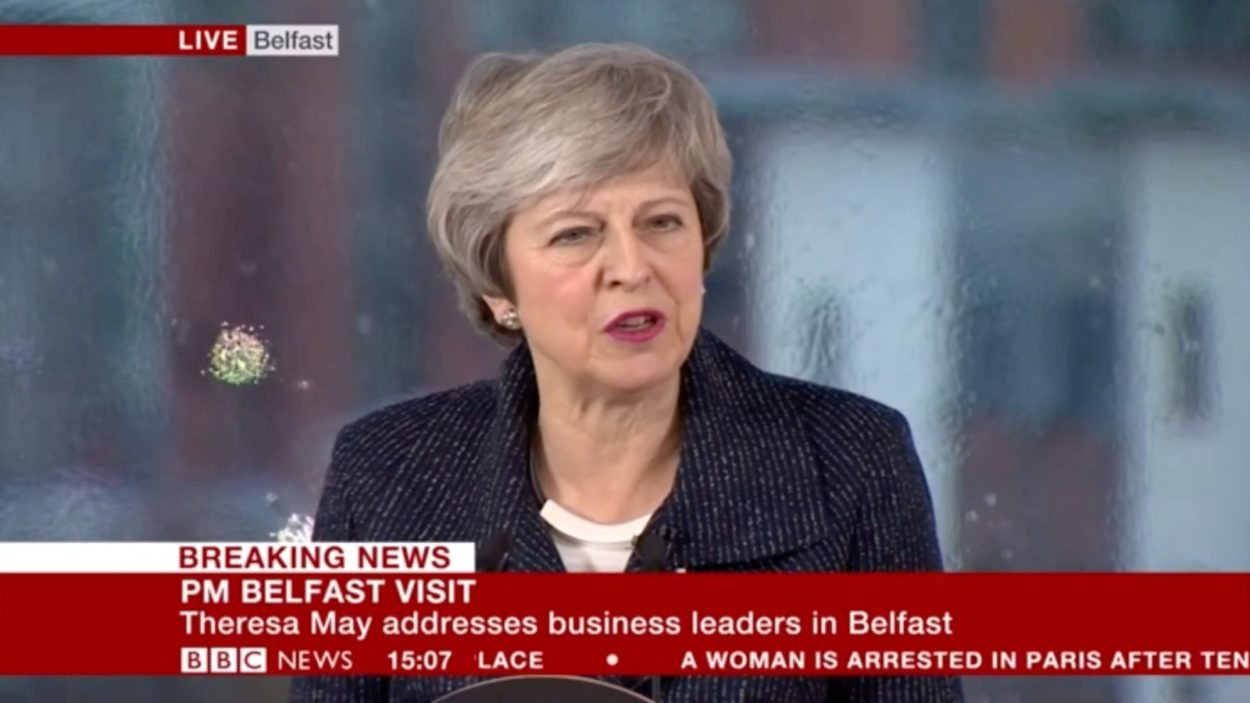 Full text of Theresa May's Belfast speech reaffirming her commitment to the principles of the Good Friday Agreement