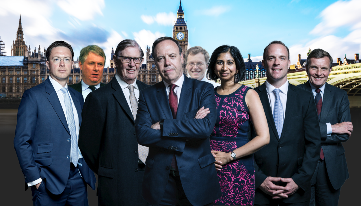 Meet the eight lawyers who will judge whether 'Cox's codpiece' cuts the mustard