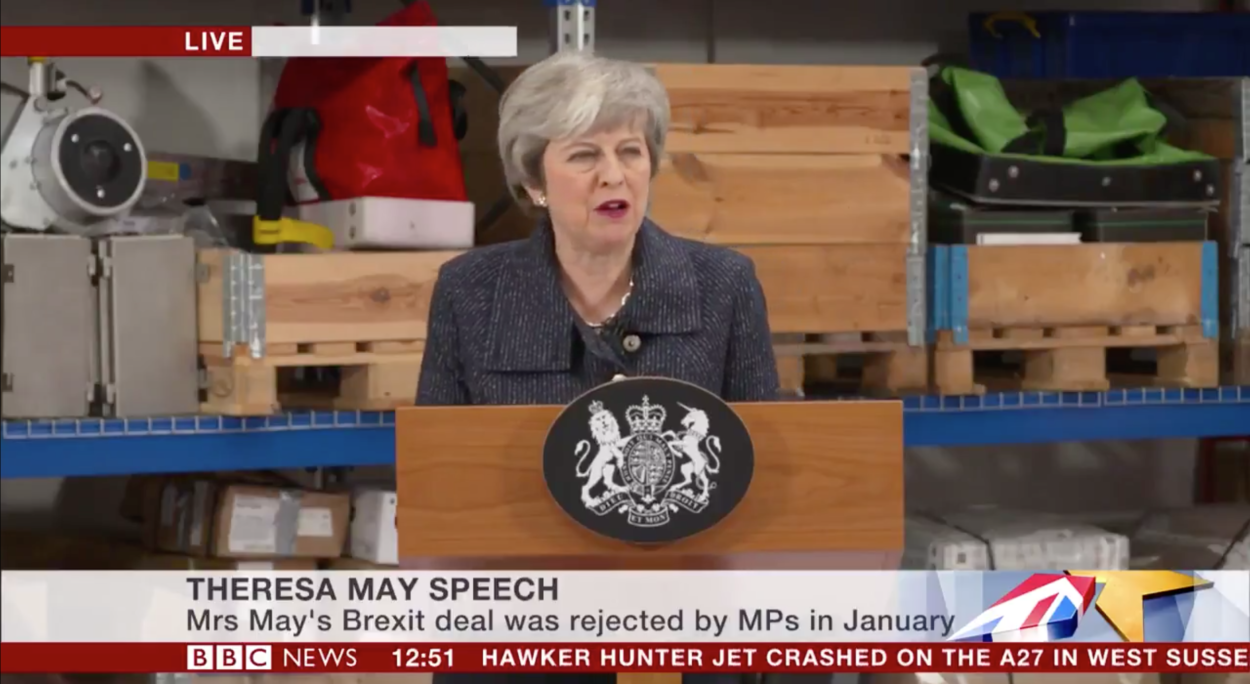 Full text of Theresa May's speech on Brexit in Grimsby