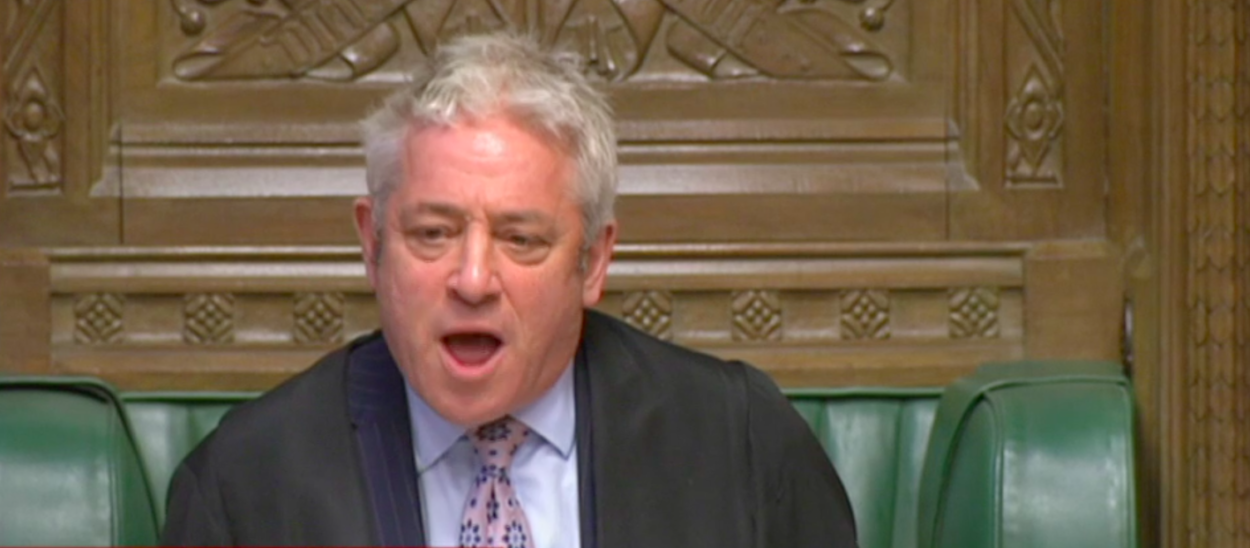 'Biased Remainer' John Bercow announces he will quit as Speaker on October 31st: Brexit News for Tuesday 10 September