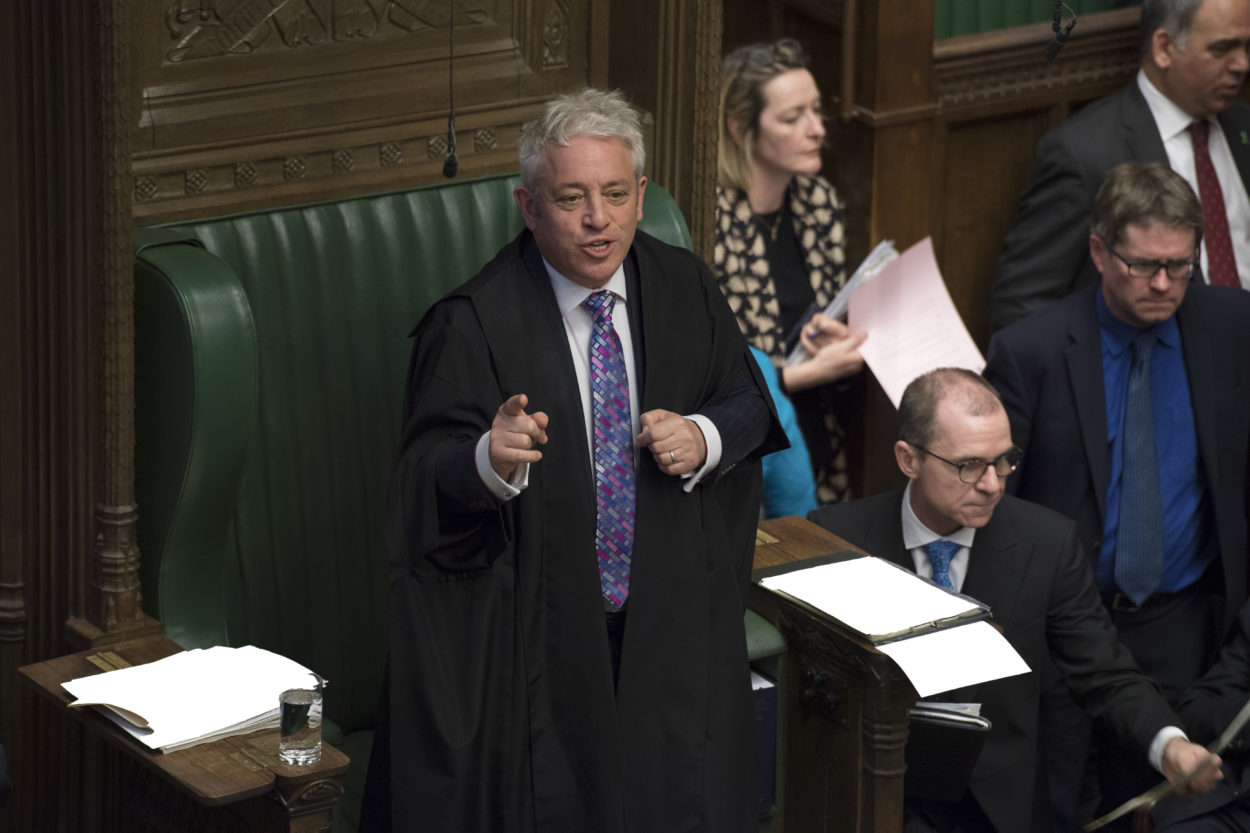 Speaker Bercow's increasing partiality on Brexit is a grave constitutional concern