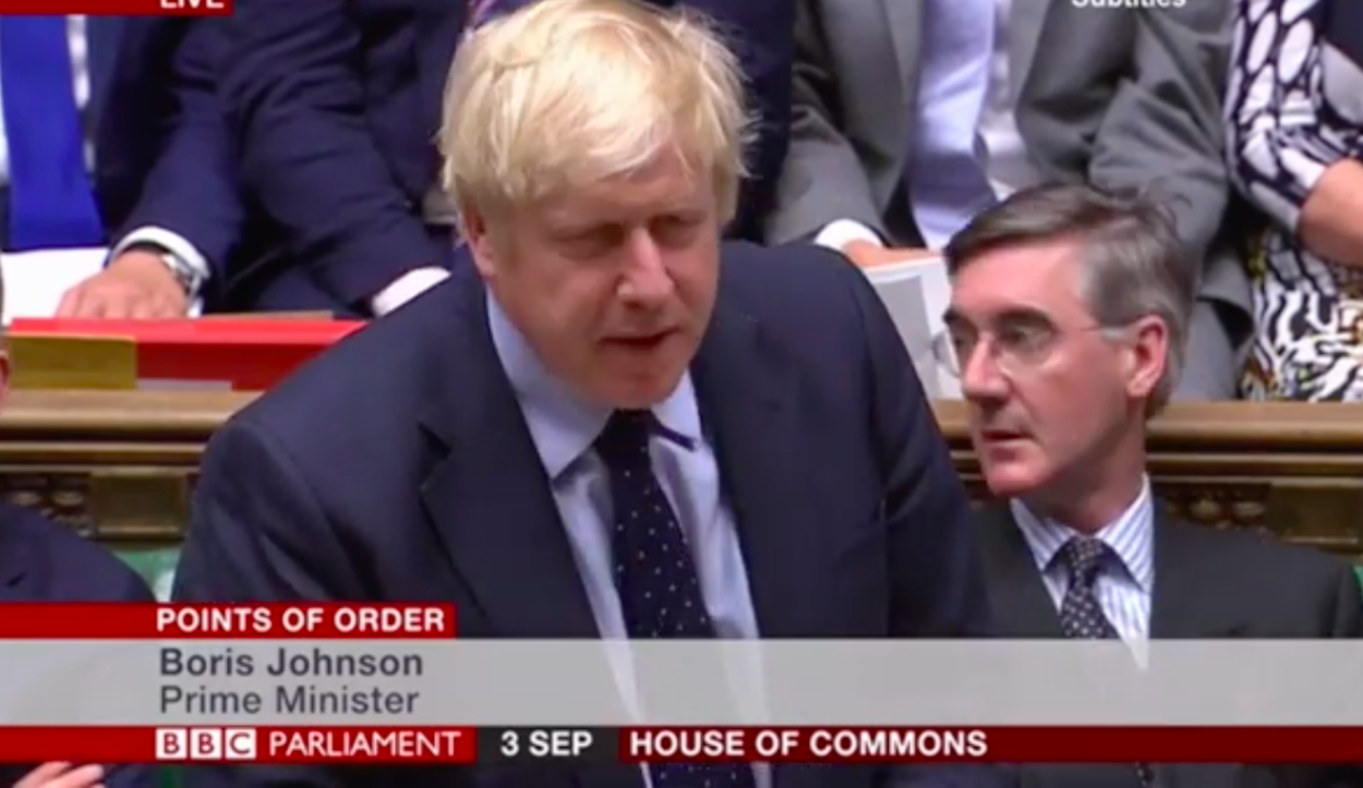 Boris Johnson defeated as MPs seeking to delay Brexit seize control of today's Commons agenda: Brexit News for Wednesday 4 September