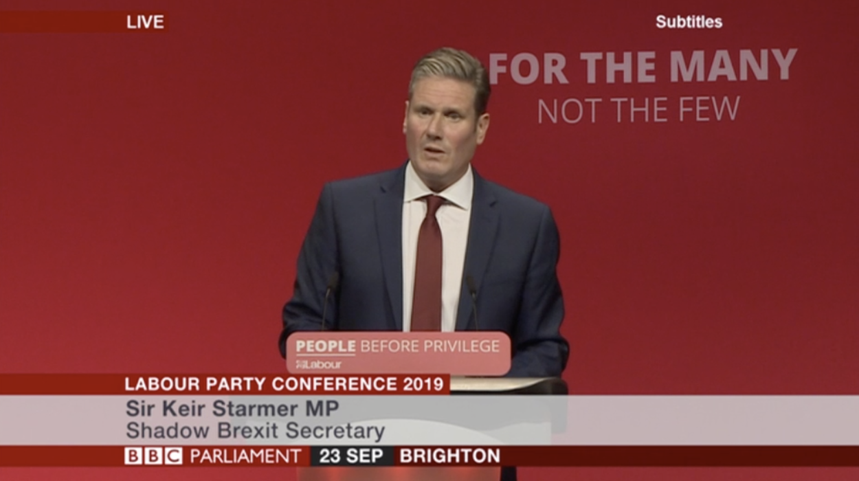 Shadow Brexit Secretary Keir Starmer's speech at Labour Party Conference
