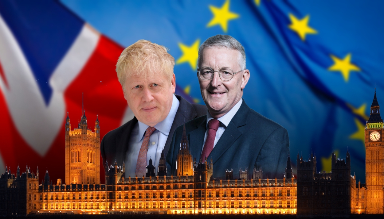 Hilary Benn publishes his Bill to delay Brexit again as Government threatens an election if MPs back it