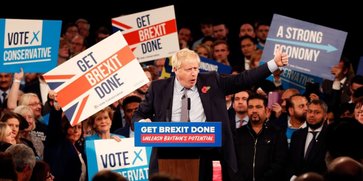 Boris Johnson pledges to get Brexit done as he warns voters 'it's me or a horror show of dither and delay': Brexit News for Thursday 7 November