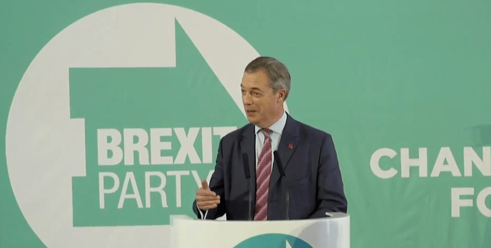 Nigel Farage reveals the Brexit Party will not contest 317 Conservative-held seats – full text of his speech