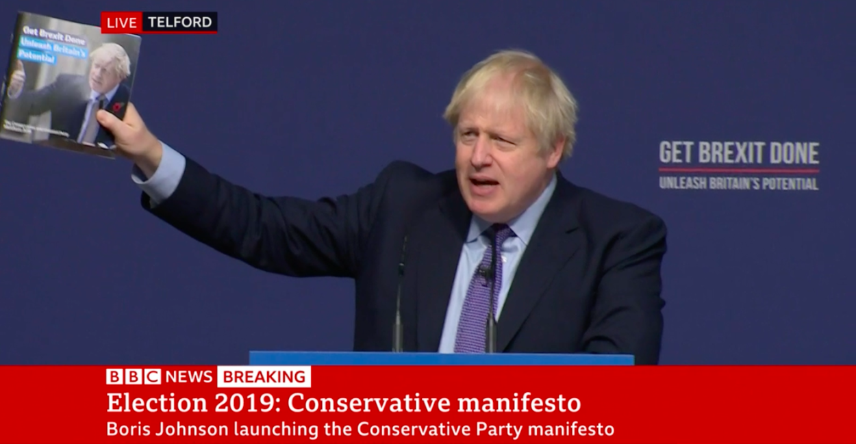 What the 2019 Conservative manifesto says about Brexit