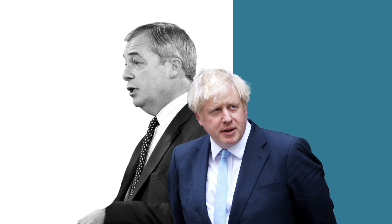 Here's the deal on candidates that Boris Johnson should do with Nigel Farage today