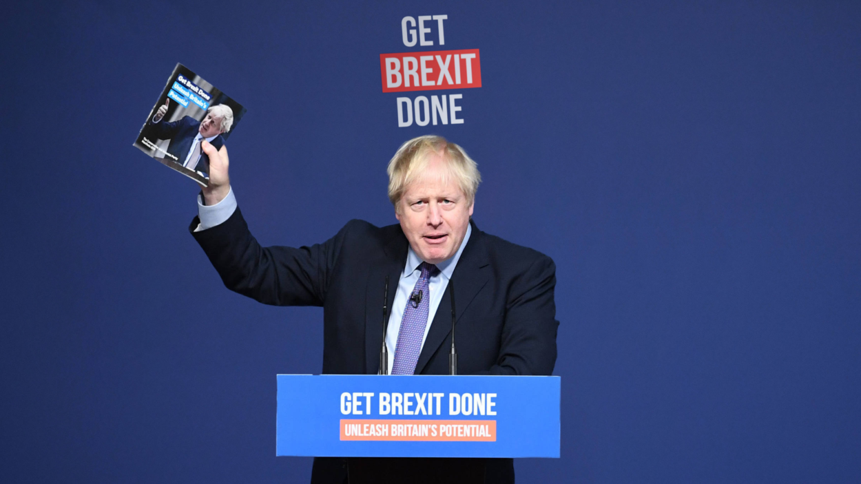 Vote Conservative and give Boris a majority – or else we lose Brexit entirely